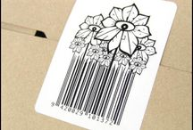 Clever QR/2d codes and bar codes / by Andrew Gibki