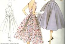 (Vintage) Sewing Pattern wishlist / by Lisa Weigel