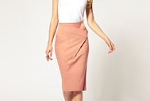 high waist skirt obsession / by Megan Boud