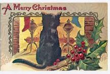 vintage Christmas Cards / by Anne Ross Caver
