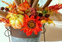 Fall decor  / by Phyllis Penner