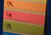 Cards ~ Scrap Busters / Ideas for using those little bits of paper for less waste! / by Tam Zimmerman