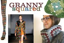 Granny Squared / granny squares, hexagons, african flower motifs, etc. / by Yvette Wilson