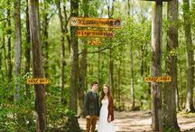 Glamping Themed Wedding / To have and to hold- glamorous camping themed wedding. Low budget but boat loads of fun  / by Brittany Cozzens