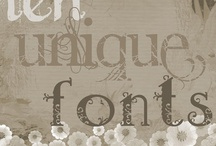 Font Etc / by Amanda Brantley