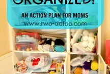 Organizing And Cleaning / by Carla Salard