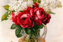 Peintures florales / by Virginie Steib