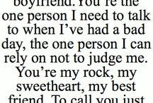 Boyfriend / by Stephanie Pearson