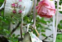 Tea and tidbits / Recipes for teas and other activities, along with pointers and ideas. / by Holly Kraus