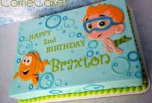 Bubble Guppies Cake / by Amandelyn Sorrell