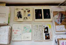 scrapbooks, journals et al. / by Victoria Pichel