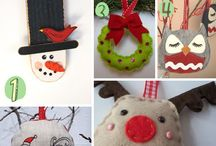 Christmas crafts / by Becky D.