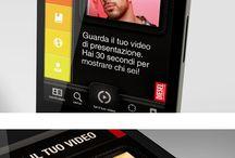 ✚ Ui • Mobile apps / ✚ #userinterface #ui #ux #design #typograhy #colour #web #app #template #freebies ✚ / by Thomas Guibert