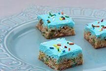 yummy treats. / by Amy Perkins