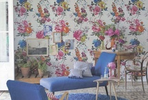 wall paper & fabric inspiration / for the love of of all kinds of prints / by mommy is coocoo