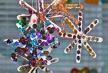 Crafts ~ Glue, Glittery, Mess (aka feeling brave) / by Theresa Goon
