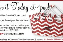 Redesigned! Reloaded! Relaunched! / Carolina Clover has been redesigned!  Reloaded with cool new products and Relaunched! / by CarolinaClover.Com