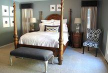 Master bedroom / by Jessica Barnett