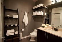 New Bathroom Inspiration / These colors / by Jodi Kay Hansen
