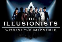THE ILLUSIONISTS April 7 - 19, 2015 / by Dallas Summer Musicals