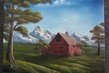 Kevin Hill Art / by Pampered Palette