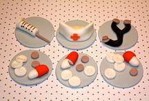 cupcake & cake topper / by lovingly