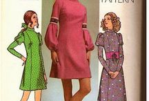 1960's Sewing Patterns / 1960's sewing patterns / by newenglandwoodstock.tumblr.com