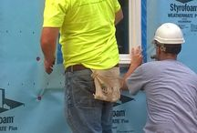Habitat for Humanity Build - June 2014 / Windsor team members helping at a Habitat build on Logan Avenue in Des Moines, Iowa, June 25 and 27. We're proud to support such a worthy cause! #habitatforhumanity  / by Windsor Windows & Doors