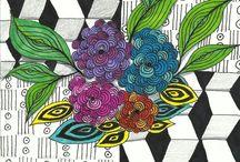 Art : Zentangle Videos / by A.J. Sarine