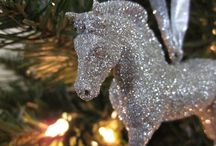 Christmas Horses / Christmas and horses just go together! / by Jean Lawton-Day