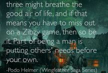 Book Quotes / by Wingfeather Saga