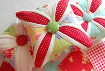 pin cushions / by Cindy Hawker-Amador