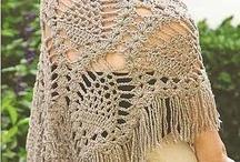 Chales capas crochet / by Lupita Perez Rodriguez