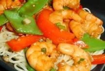 Shrimp Dishes / by Colleen Miller