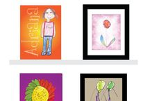 I Love My kids' Art Gallery / Take a look to some children's artwork transformed into masterpieces. / by I Love my Kids' Art