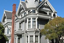 Love the Victorian style homes / by Sylvia Trevino-Rickman