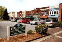 Hickory, NC / Furniture, textiles, good beer and good folks!  Just a bit more sophisticated than Mayberry -- and that's a GOOD thing! / by Patti Mattingly