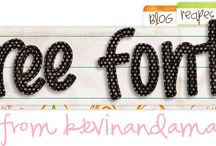 Fonts / by Amy Elston