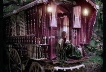 My Magic Land / This is things, people, and sights you would see in the place where there is a magic princess who lives in a palace and loves her people. This is how I imagine it would be.  / by Sherry Kearney