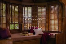 Wood Blinds / Wood Blinds / by Designer Window Fashions
