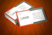 Business card design / Out grabbing a drink and want to pass on your info and make an impression? Check out our awesome business card design - sure to make a memorable connection.  / by 99designs