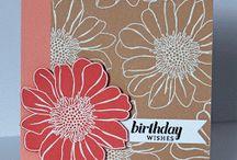 Cards-Flowers  / by Kathy Mikolajczak
