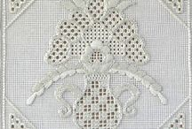 Whitework Embroidery - Pristine & Pretty! / Whitework embroidery inspiration! / by Mary Corbet
