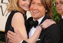 Nicole Kidman & Keith Urban / by Shirley Morlan