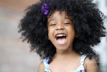 Natural Beauty / Natural hairstyles on children and adults / by Celía Burke