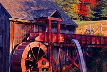 Barns & Mills / Old barns & mills, old buildings / by Jenni Lee