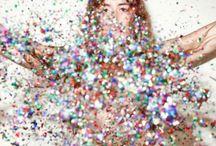 Raining Glitter!!! / by Sarae Sims