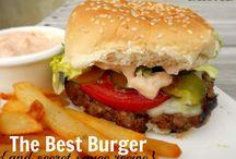 Burgers / by Patricia Van Hise