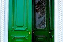 Colorful doors / by Kate Nyland-Hoke