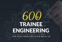 Engineering Trainee jobs / Jobs Trainee Engineering vacancies in Careesma. 678 job offers in Careesma for Trainee Engineering. You can see all the jobs for Trainee Engineering, Page 1 out of ... / by Careesma.in India